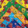 100% Cotton Printed Flannel Fabric