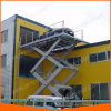 5m Hydraulic Electric Mobile Manual Scissor Car Lift
