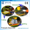 Hydraulic Granite Stone Stamping Machine for Round Firepits Designs