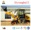 Mini Loader Zl08 with Ce Approved Articulated 0.8 Ton Wheel Loader with Rops&Fops Cabin