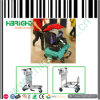 Airport Luggage Trolley for Storage with Hand Brake