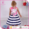 Latest Design Pattern Stripe Young Girl Dress Kids Camisole Frocks