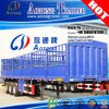 3 Axles Multi Functions 40ft Flatbed Container Fencing Semi Trailer