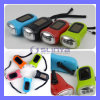 Promotion Gift Solar Hand Crank Dynamo Power Flashlight 3 LED Light Emergency Torch