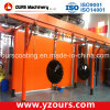 Advanced Paint Spraying Line with Water Curtain Paint Booth