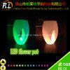 LED Light up Tall Round Garden Decoration LED Flower Vase