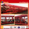 2 Axles Skeletal Car Carrier Trailer/Car Transportation Trailer