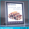 LED Crystal Menu Light Box for Restaurant