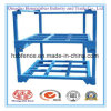 Powder Coating and Corrosion Protection Feature Steel Stacking Post Pallet