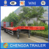 Low Bed Semi Trailer Manufacturer with Wmi Certification