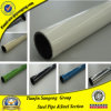 Weld Steel Pipe with Colorful Plastic Coated