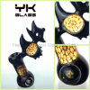 Hand Blown Smoking Pipe Smoking Hookah Bubbler with Honeycomb