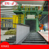 Chanel Steel Rust Remover Roller Conveyor Type Shot Blasting Machine