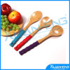 Bamboo Spoon & Fork Set Natural Wood Serving Utensil Set