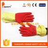 Ddsafety 2017 Flock DIP Lined Latex Household Gloves