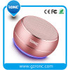 LED Light Aluminum Case Bluetooth Speaker with Bass Sound