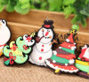 Custom Christmas Tree Snowman 2D PVC Fridge Magnet (YB-FM-450)