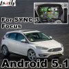 Android 4.4 5.1 GPS Navigation Box for Ford Focus Sync 3 Video Interface Mirror Link Waze