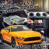 Android 5.1 4.4 GPS Navigation Box for Ford Mustang Sync 3 Video Interface