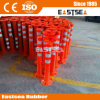 Orange Road PU Flexible Delineator Warning Bollard