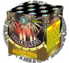 "0.8"" Black Label 25 Shots Cake Fireworks"