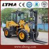 Ltma Diesel Forklift 1.5t Mini Rough Terrain Forklift Trucks