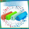 Mini Portable 6600mAh Bluetooth Speaker Power Bank with Phone Holder