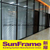 High Class Office Partition Wall System with Blinds Inside