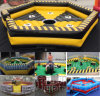 New Design Inflatable Bull Game/Adult Inflatable Wipeout Sport Games