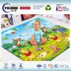 Baby Toys 2017 Educational Mats Eco Friendly Baby Play Gym Mat for Language Learning