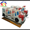 Kids Fiberglass Swing Bus Coin Operated Kiddie Ride
