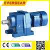 R Series Helical Gear Reducer Hard Gear Connect Directly with Motor