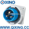 IEC 60309 IP67 16A 3p Industrial Outlets & Sockets (QX826)