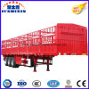 Hot Selling Tri-Axle Livestock & Farm Goods Carrier Stake Truck Utility Trailers