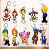 3D Custom Cartoon Rubber Key Chain for Promotional Items