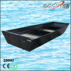 Small Black Aluminum Fishing House Use Boat