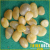 Natural Stone, Garden Stone-Polished Yellow River Stone, Cobble, Pebble