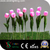 Garden Decoration PU Material LED Tulip Light