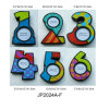Wooden Decorative Numbers Photo Frames in MDF