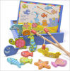 Fishing Game Magnetic Stickers Digital Toy