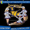 Promotional Custom Plating Colorful Metal Medals
