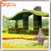 Guangzhou Supplier Decorative Artificial Green Plants Grass