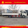 Sinotruk 4X2 10 Tons Truck Mounted Crane, Made in China
