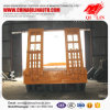 4 Axle Low Bed Trailer Price with 80 Ton Capacity
