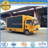 HOWO 5 Tons Outdoor Advertising Truck with LED Screen Display
