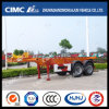 20FT 2axle Skeletal Container Semi Trailer with High Quality