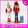 2015 Wooden Children Soldier Nutcracker Doll, Fashion Wooden Doll for Chidren, Wooden Toy Children Doll for Christmas Gift W02A062