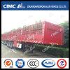 Cimc Huajun 3axle Stake/Cargo Semi Trailer with Short Lock