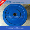 Olympic Bumper Plates Colorful Rubber Weight Plates / Dumbbell Set