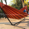 Double Fabric Hammock Chair with Stand
